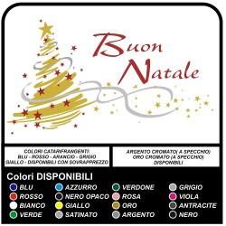 Sticker weihnachten - weihnachtsbaum Frohe Weihnachten - Aufkleber, weihnachts - Schaufenstern-läden zu Weihnachten