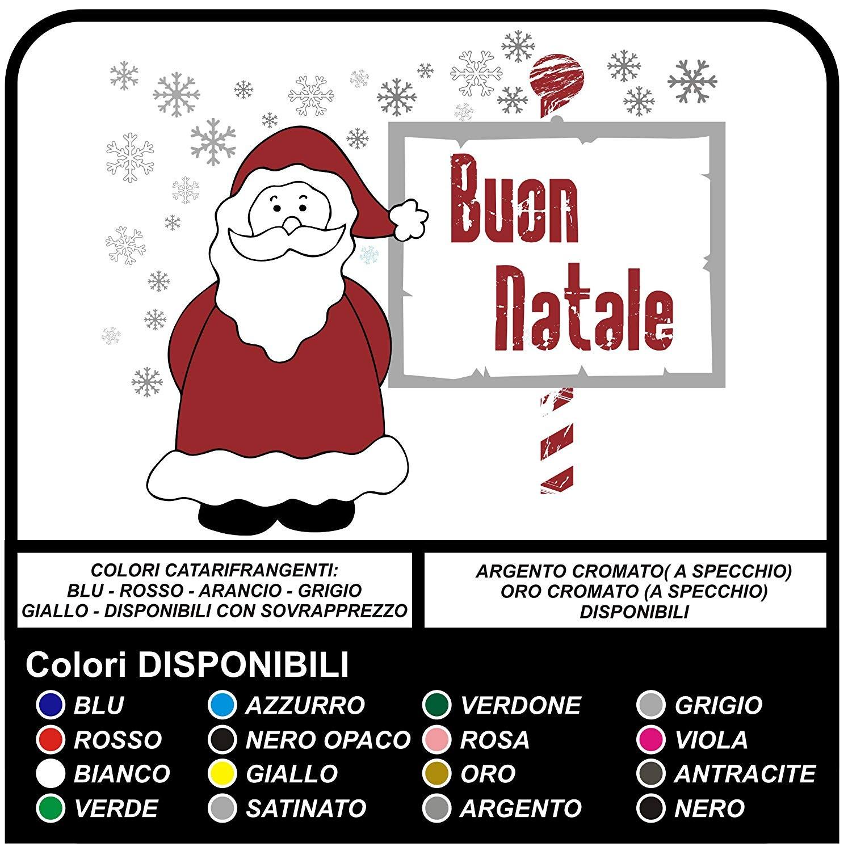 Adesivi Babbo Natale.Adesivi Di Natale Babbo Natale Con Neve Buon Natale Vetrofanie Natalizie Vetrine Negozi Per Natale Adesivi Natalizi