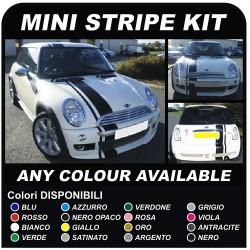 MINI COOPER kit de bandes adhésives COOPER UNE JCW D 1.6 Turbo John Cooper UN TOUS les MODÈLES mini cooper rayures sur le capot