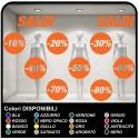 Adesivi saldi Kit 10 Adesivi Saldi Varie Percentuali Vetrofanie Allestimento Vetrine Stickers Design Decal Intagliati