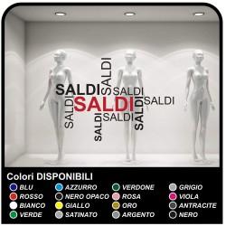 Lettrage adhésif Soldes de Décalcomanies, de vitrines Design Autocollants stickers fenêtre de magasin soldes pour les magasins