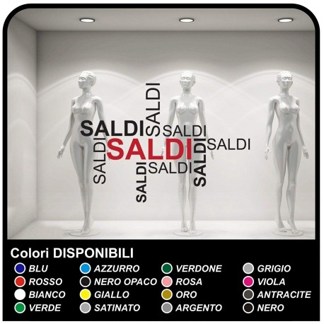 Aufkleber Schriftzug-Salden Aufkleber, Schaufenster gestalten Sticker Design aufkleber-schaufenster-salden für geschäfte