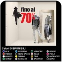 Adhesives balances for shops Sticker sales - Up to 70% - Measures 75x60 cm - shop-windows for balances