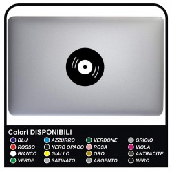 Adhesive DISC - DJ - FOR ALL MODELS OF Mac Book Apple 13-15-17 - ADHESIVE FOR ANY COMPUTER