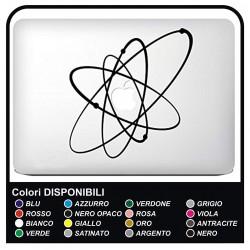 """Autocollant""""Système Solaire""""pour tous les modèles de MacBook d'Apple Mac Book 13"""" et 15"""" - sans le fond sculpté"""