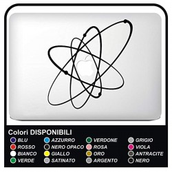 "Sticker""Solar System""for all models Apple MacBook Mac Book 13"" and 15"" - without the bottom carved"