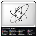 """Sticker""""Solar System""""for all models Apple MacBook Mac Book 13"""" and 15"""" - without the bottom carved"""