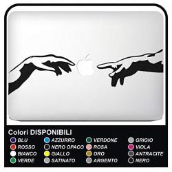 """Aufkleber""""Michelangelo"""" für alle modelle von Apple Mac Book MacBook 13"""" - 15"""" - aufkleber auch hervorragend für andere"""