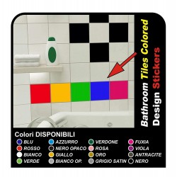18 adhesives for tiles cm 15x20 Decor Stickers Tiles Kitchen and bathroom