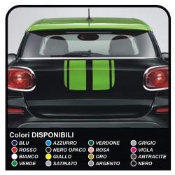 stickers Trunk mini cooper MINI COOPER kit adhesive stripes HOOD REAR mini COUNTRYMAN John Cooper the ONE with ALL the MODELS
