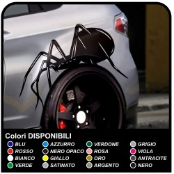 Stickers spider spider stickers for alfa romeo's bmw 3 series 4 5 X audi TT sline golf volksvagen vw golf polo tuning Seat