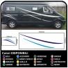 autocollants pour MOTORHOME graphiques de vinyle autocollants décalques rayures camping-car, CARAVANE, Motorhome - graphique 13