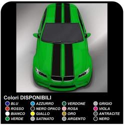 adhesive hood roof bmw mini cooper bmw mini volksgagen golf vw alfa romeo decoration car Stripes Rally