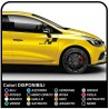 Stickers for the Renault clio RS, clio williams clio 2.0 RS sport new clio Graphic Set Stickers clio