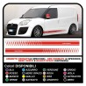 Adhesive doblo doblò abarth VW EVO and FORD TRANSIT ST CONNECT VAN FIAT DOBLO VAN STICKERS VAN, AND VAN VANS