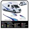 pegatinas para AUTOCARAVANA gráficos de vinilo pegatinas calcomanías de rayas caravana CARAVANA Autocaravana - gráficos 16
