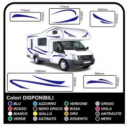 autocollants pour MOTORHOME graphiques de vinyle autocollants décalques rayures camping-car, CARAVANE, Motorhome - graphique 17