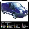 STICKERS HOOD & Side FOR FORD Transit Mk6 Connect Van ST M-SPORT 2.0 van ducato VAN daily vivaro iveco