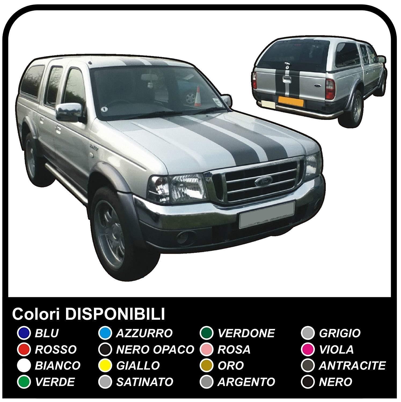 Stickers Pick Up 4x4 Ford Ranger St Stripes Truck Van Graphics 4x4 Suv