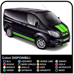 AUTOCOLLANTS POUR FORD TRANSIT Custom SWB M-SPORT Van LE van vivaro ducato iveco daily