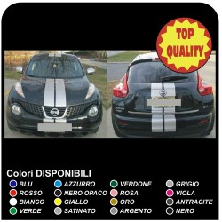 Stickers for the bonnet, roof and boot lid for Nissan juke decoration stickers decals nissan juke 1.5 1.6 3.8 SUV ST D spoiler
