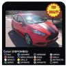 STICKERS SIDE HOOD AND ROOF for FORD FIESTA MK7 ST Stripes Car stickers 2.0 tuning the sides hood roof ford fiesta
