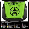 stickers for hood for wrangler jeep us army star with skull worn effect renegade jeep star military Willys