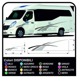 autocollants RV Définir Le Van RV Caravane camping-car, caravane, TOP QUALITÉ graphique 19