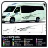 aufkleber für WOHNMOBILE Set Camper Van RV Caravan Wohnmobil wohnwagen TOP-QUALITY - grafik-19