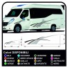 stickers RV Set Camper Van RV Caravan Motorhome, caravan, TOP QUALITY - graphics 19