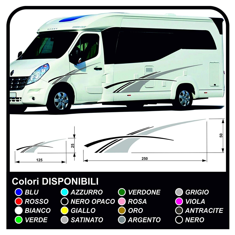 stickers RV Set Camper Van RV Caravan Motorhome, caravan, TOP QUALITY -  graphics 8