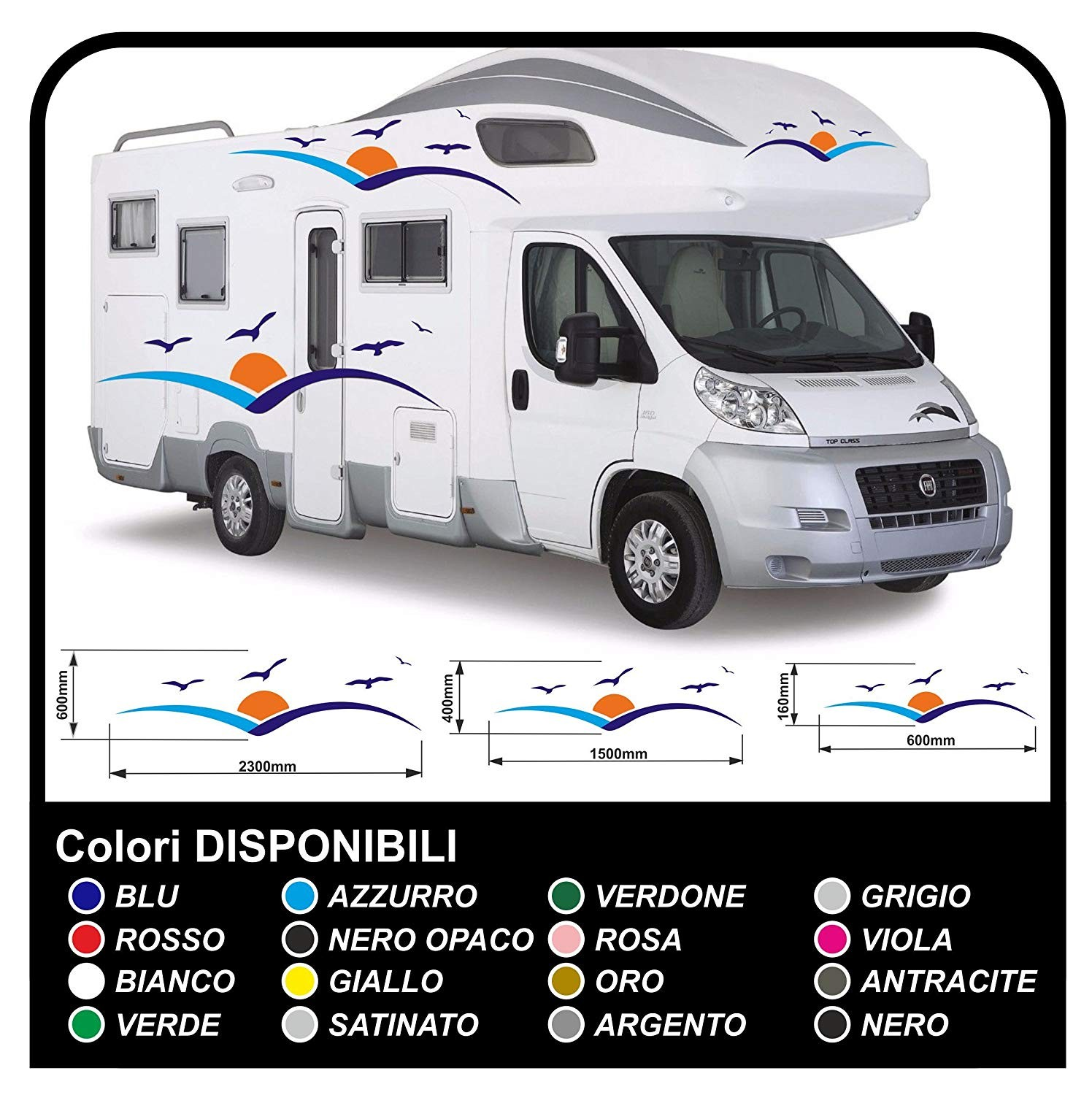 Stickers for motorhome graphics vinyl stickers decals stripes set camper van caravan motorhome graphics 26 jpg