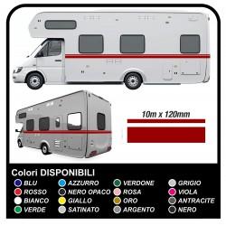 Adhésifs pour RV VINYLE BANDES de 10 MÈTRES pour LE camping-car CARAVANE Box bandes adhésives - graphique 29 - kit complet