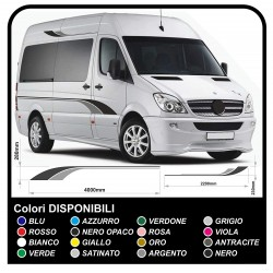 stickers for CAMPERS and MINIBUSES Set Camper Van RV Caravan Motorhome trailer kit complete TOP QUALITY graphics - 30