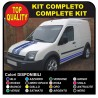 Stripes FORD Transit Connect Van ST Stickers Decals adhesive strips ford transit connect car, truck, and van