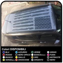 adhésif de TOIT pour jeep renegade Autocollant Sticker de TOIT nouvelle Jeep Renegade de Qualité supérieure Renagade Offroad