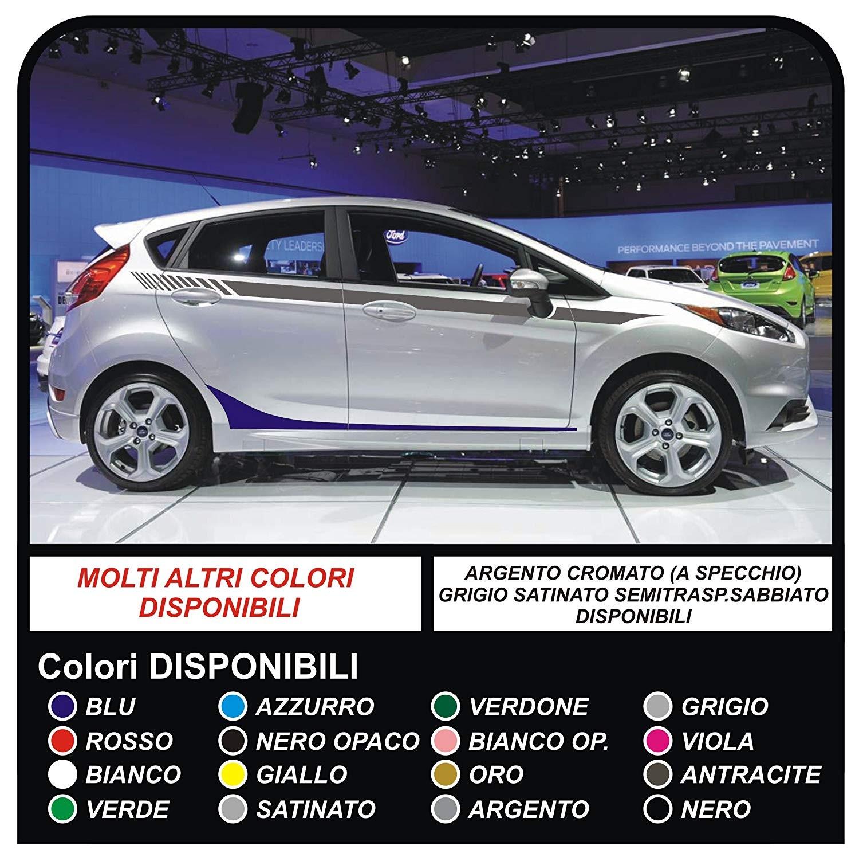 più vicino a vendita calda genuina goditi il miglior prezzo Set Adesivi per FORD FIESTA MK7 / 8 Grafica Strisce auto fasce laterali