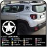 des autocollants pour l'arrière de la jeep renegade effet usé des autocollants nouvelle Jeep Renegade de Qualité supérieure