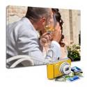 Quadro o stampa su tela canvas personalizzata - fornisci tu la foto da smartphone o fotocamera - con telaio o senza telaio