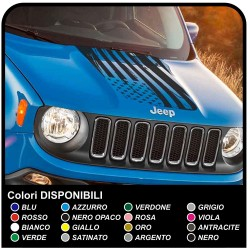 Adhesive Sticker for Bonnet Jeep Renegade top Quality Renagade decal sticker jeep renegade Trailhawk 4x4