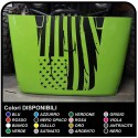 stickers for hood for wrangler jeep us army american flag worn effect renegade jeep Willys SUV
