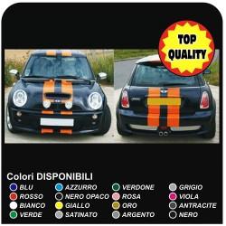 Aufkleber Für Mini Bonnet Sticker Mini Cooper S Bänder Motorhaube Dach Und Kofferraumdeckel Rückseite Viper