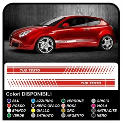 adhesive strips to the side for alfa romeo 147 ducati corse alfa romeo mito side stripes alfa giulietta side bands