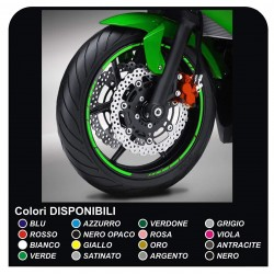 stickers wheel rims motorcycle adhesive strips for DUCATI YAMAHA SUZUKI KAWASAKI HONDA BMW GP STYLE APRILIA BIMOTA MOTARD