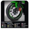 stickers wheel rims motorcycle adhesive strips for DUCATI YAMAHA SUZUKI KAWASAKI HONDA BMW GP STYLE APRILIA BIMOTA MOTARD