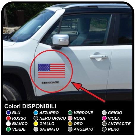 adhesives for door American Flag for jeep wrangler off-road vehicles and suv's Skull Willys Tuning rally