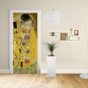 Adhesive door Design - Klimt The Kiss - Gustav Klimt The Kiss (Lovers) Decoration adhesive for doors