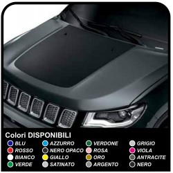 Grafic Sticker cover for Jeep Compass - top Quality decal stickers