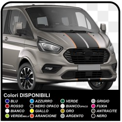 M-SPORT Stickers-tone pattern Side and bonnet, Van graphics, van stickers decals stripes custom turneo