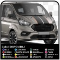 Adhesives TRANSIT M-SPORT two-tone Side and bonnet, Van graphics, van stickers decals stripes ford transit custom turneo